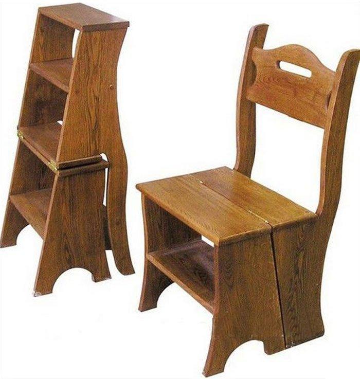 Складной стул-стремянка фото