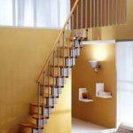 Сборная лестница утиный шаг фото