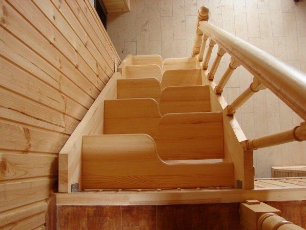 Утиная лестница фото