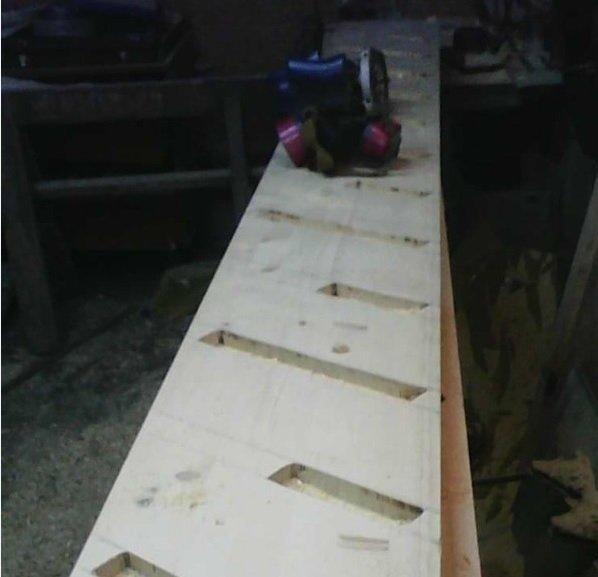 Лестница гусиный шаг своими руками фото