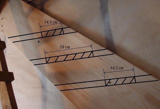 Размеры лестницы гусиный шаг фото