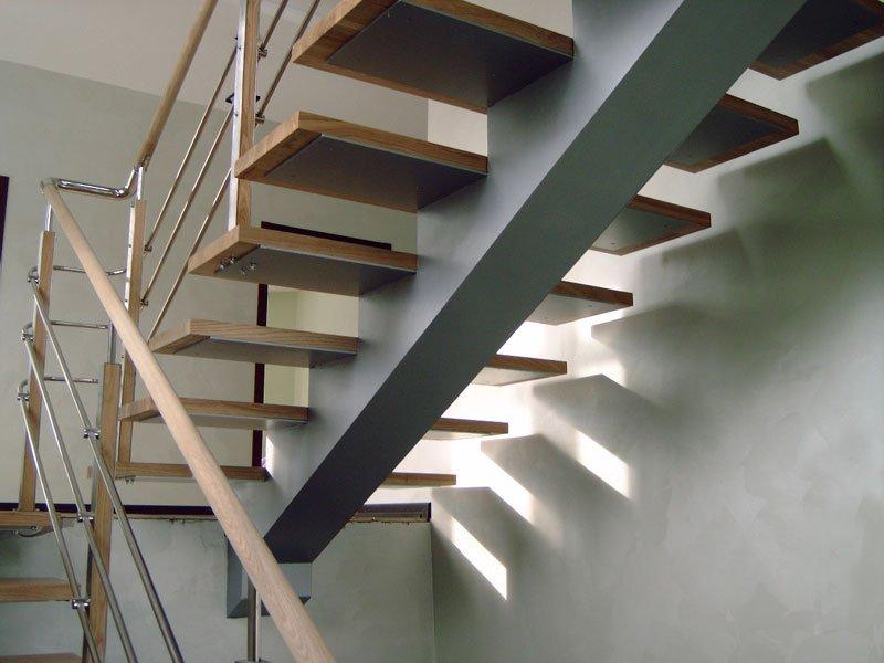Лестница на косоурах своими руками — как сделать косоур для лестницы