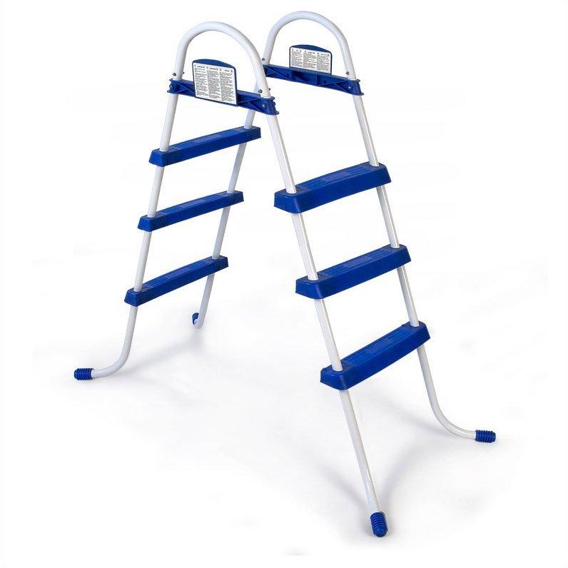 Двухсторонняя лестница для бассейна