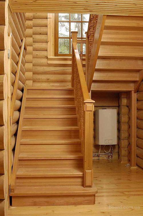 Деревянная лестница своими руками: фото, видео изготовления 10