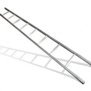 Лестница с профильной трубы своими руками