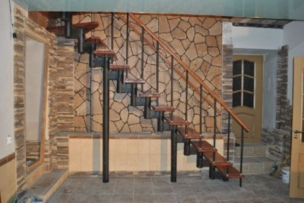 Классическая модульная лестница