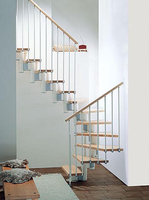 Модульная лестница в комнате