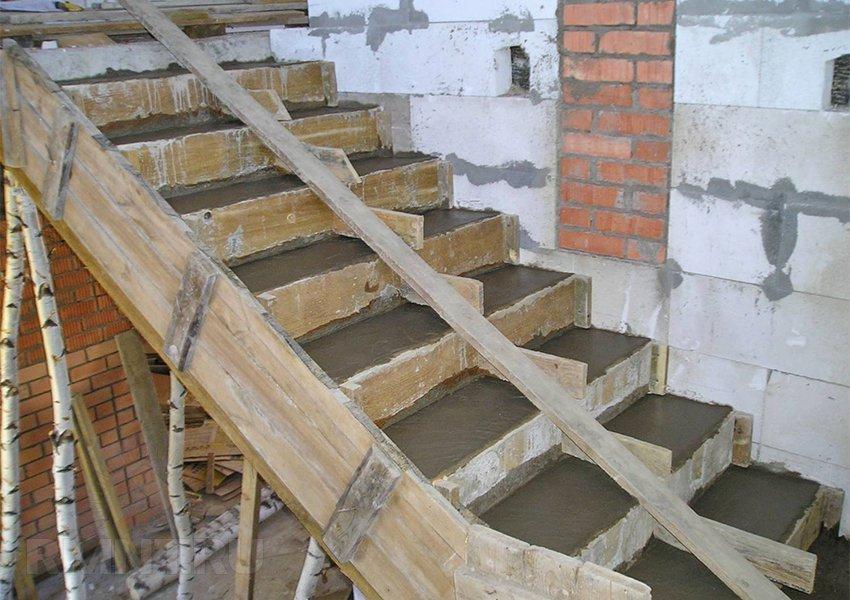 Опалубка для лестницы своими руками 718